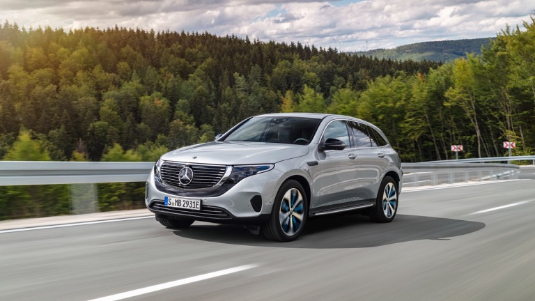 Mercedes EQC 400 4MATIC price and specifications - EV Database