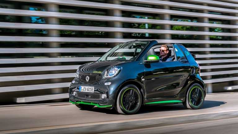 Smart Eq Fortwo Cabrio Battery Electric Vehicle