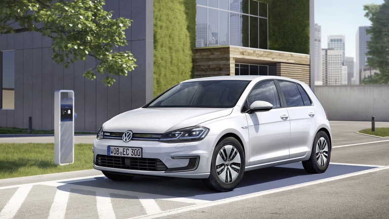Volkswagen E Golf Battery Electric Vehicle